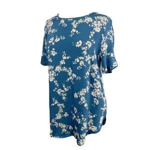 GP & J BAKER x H&M Patterned Floral Top US 10 Med